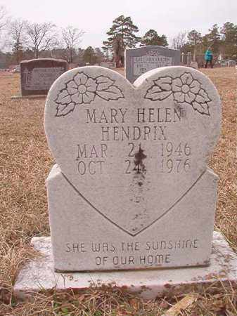 HENDRIX, MARY HELEN - Calhoun County, Arkansas | MARY HELEN HENDRIX - Arkansas Gravestone Photos