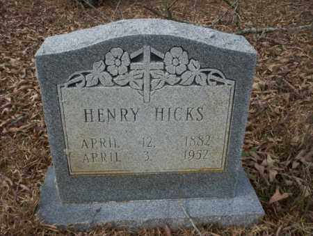 HICKS, HENRY - Calhoun County, Arkansas | HENRY HICKS - Arkansas Gravestone Photos