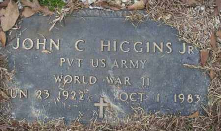 HIGGINS, JR. (VETERAN WWII), JOHN C - Calhoun County, Arkansas | JOHN C HIGGINS, JR. (VETERAN WWII) - Arkansas Gravestone Photos