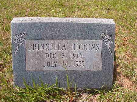 HIGGINS, PRINCELLA - Calhoun County, Arkansas | PRINCELLA HIGGINS - Arkansas Gravestone Photos