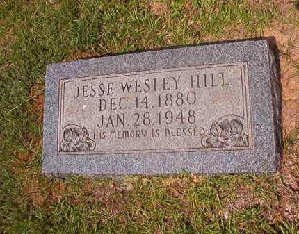HILL, JESSE WESLEY - Calhoun County, Arkansas | JESSE WESLEY HILL - Arkansas Gravestone Photos