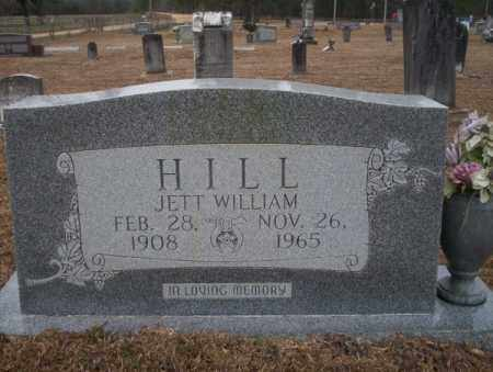 HILL, JETT WILLIAM - Calhoun County, Arkansas | JETT WILLIAM HILL - Arkansas Gravestone Photos