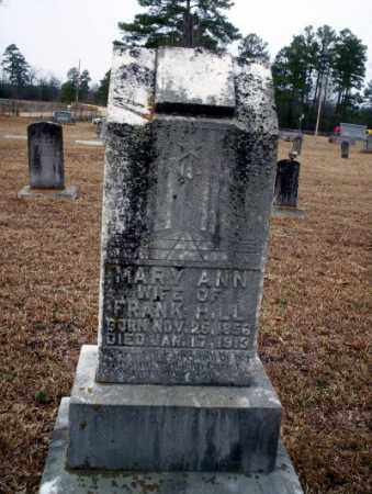 HILL, MARY ANN - Calhoun County, Arkansas | MARY ANN HILL - Arkansas Gravestone Photos