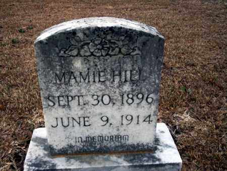 HILL, MAMIE - Calhoun County, Arkansas | MAMIE HILL - Arkansas Gravestone Photos
