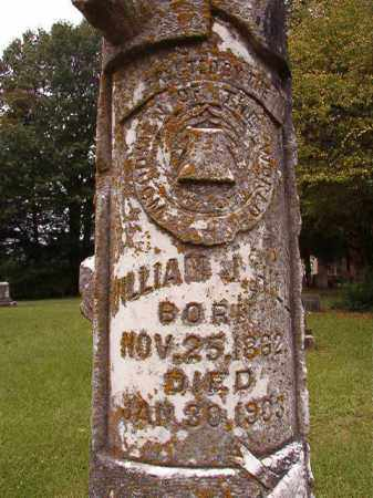 HILL, WILLIAM J - Calhoun County, Arkansas | WILLIAM J HILL - Arkansas Gravestone Photos