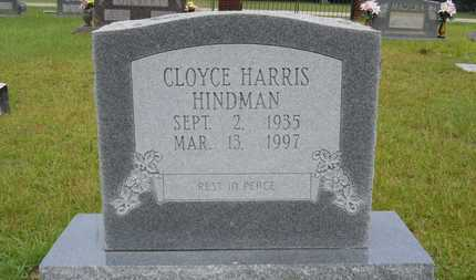 HARRIS HINDMAN, CLOYCE - Calhoun County, Arkansas | CLOYCE HARRIS HINDMAN - Arkansas Gravestone Photos