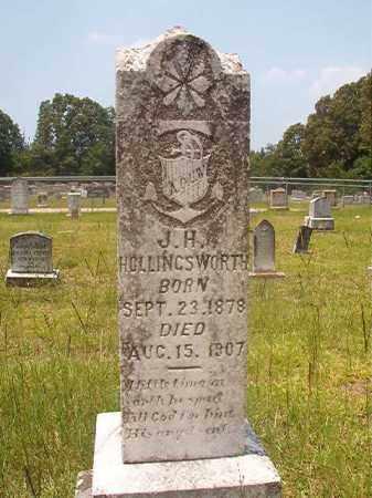 HOLLINGSWORTH, J H - Calhoun County, Arkansas | J H HOLLINGSWORTH - Arkansas Gravestone Photos