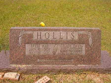 HOLLIS, GRADY DAVIS - Calhoun County, Arkansas | GRADY DAVIS HOLLIS - Arkansas Gravestone Photos