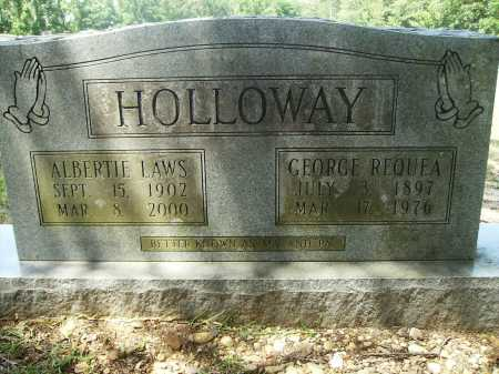 LAWS HOLLOWAY, ALBERTIE - Calhoun County, Arkansas | ALBERTIE LAWS HOLLOWAY - Arkansas Gravestone Photos