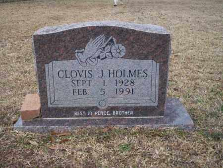 HOLMES, CLOVIS J - Calhoun County, Arkansas | CLOVIS J HOLMES - Arkansas Gravestone Photos