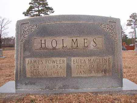 HOLMES, JAMES FOWLER - Calhoun County, Arkansas | JAMES FOWLER HOLMES - Arkansas Gravestone Photos