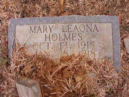 HOLMES, MARY LEAONA - Calhoun County, Arkansas | MARY LEAONA HOLMES - Arkansas Gravestone Photos