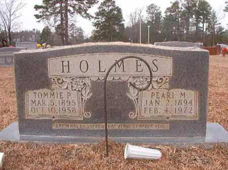HOLMES, TOMMIE P - Calhoun County, Arkansas | TOMMIE P HOLMES - Arkansas Gravestone Photos