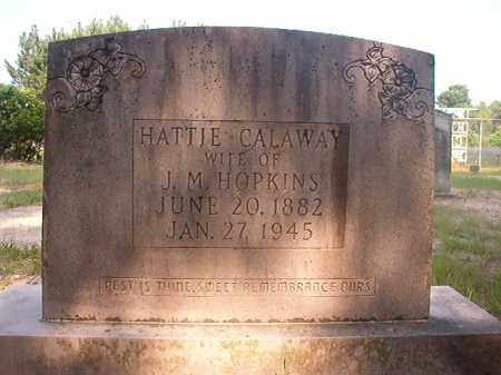 HOPKINS, HATTIE - Calhoun County, Arkansas | HATTIE HOPKINS - Arkansas Gravestone Photos