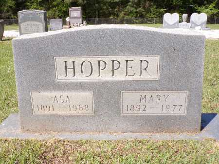 HOPPER, ASA - Calhoun County, Arkansas | ASA HOPPER - Arkansas Gravestone Photos