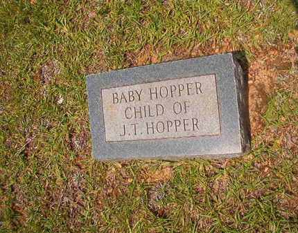 HOPPER, BABY - Calhoun County, Arkansas | BABY HOPPER - Arkansas Gravestone Photos