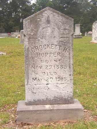 HOPPER, CROCKETT H - Calhoun County, Arkansas | CROCKETT H HOPPER - Arkansas Gravestone Photos