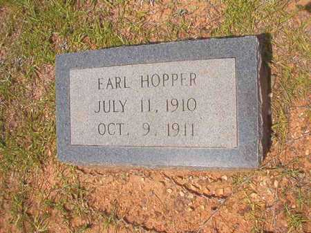 HOPPER, EARL - Calhoun County, Arkansas | EARL HOPPER - Arkansas Gravestone Photos