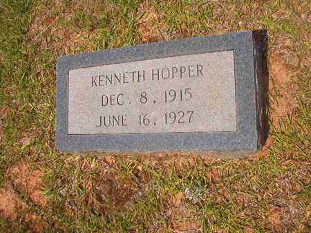 HOPPER, KENNETH - Calhoun County, Arkansas | KENNETH HOPPER - Arkansas Gravestone Photos