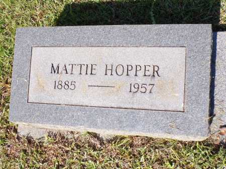 HOPPER, MATTIE - Calhoun County, Arkansas | MATTIE HOPPER - Arkansas Gravestone Photos
