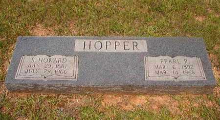 HOPPER, PEARL P - Calhoun County, Arkansas   PEARL P HOPPER - Arkansas Gravestone Photos