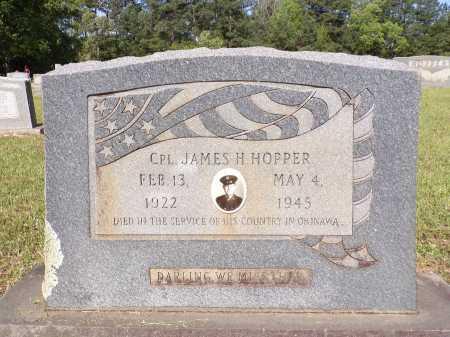 HOPPER (VETERAN WWII), JAMES H - Calhoun County, Arkansas | JAMES H HOPPER (VETERAN WWII) - Arkansas Gravestone Photos