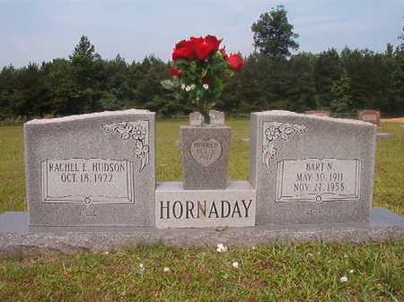 HORNADAY, BART N - Calhoun County, Arkansas | BART N HORNADAY - Arkansas Gravestone Photos