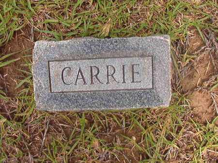 HORNADAY, CARRIE - Calhoun County, Arkansas | CARRIE HORNADAY - Arkansas Gravestone Photos