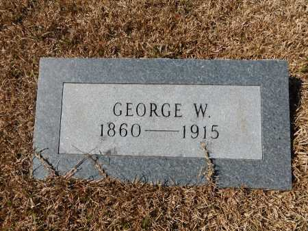 HORNADAY, GEORGE W - Calhoun County, Arkansas | GEORGE W HORNADAY - Arkansas Gravestone Photos