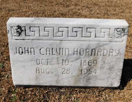 HORNADAY, JOHN CALVIN - Calhoun County, Arkansas | JOHN CALVIN HORNADAY - Arkansas Gravestone Photos