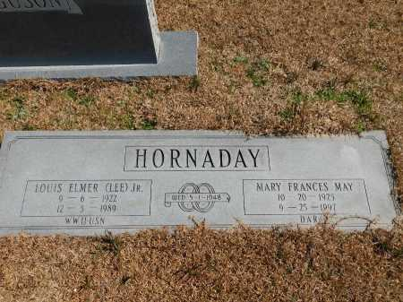 MAY HORNADAY, MARY FRANCES - Calhoun County, Arkansas | MARY FRANCES MAY HORNADAY - Arkansas Gravestone Photos