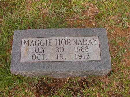 HORNADAY, MAGGIE - Calhoun County, Arkansas | MAGGIE HORNADAY - Arkansas Gravestone Photos