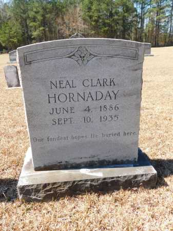 HORNADAY, NEAL CLARK - Calhoun County, Arkansas | NEAL CLARK HORNADAY - Arkansas Gravestone Photos