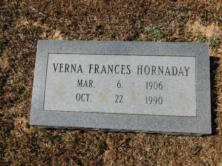 HORNADAY, VERNA FRANCES - Calhoun County, Arkansas | VERNA FRANCES HORNADAY - Arkansas Gravestone Photos