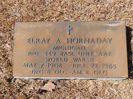 HORNADAY (VETERAN WWII), ELRAY A - Calhoun County, Arkansas | ELRAY A HORNADAY (VETERAN WWII) - Arkansas Gravestone Photos