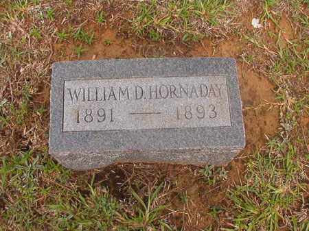 HORNADAY, WILLIAM D - Calhoun County, Arkansas | WILLIAM D HORNADAY - Arkansas Gravestone Photos