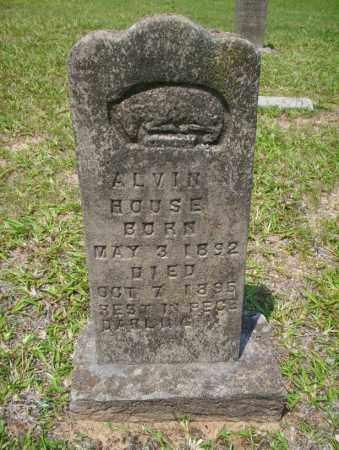 HOUSE, ALVIN - Calhoun County, Arkansas   ALVIN HOUSE - Arkansas Gravestone Photos