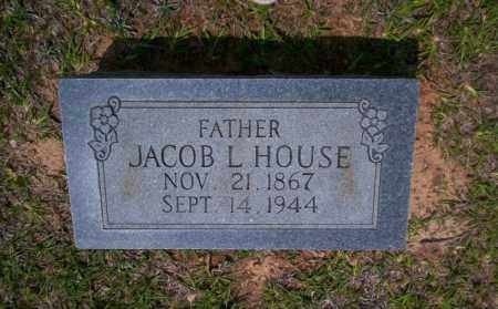 HOUSE, JACOB L - Calhoun County, Arkansas | JACOB L HOUSE - Arkansas Gravestone Photos