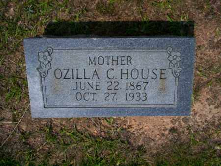 HOUSE, OZILLA C - Calhoun County, Arkansas | OZILLA C HOUSE - Arkansas Gravestone Photos