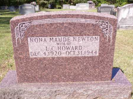 HOWARD, NONA MAUDE - Calhoun County, Arkansas | NONA MAUDE HOWARD - Arkansas Gravestone Photos