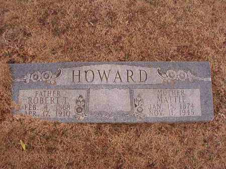 HOWARD, ROBERT T - Calhoun County, Arkansas | ROBERT T HOWARD - Arkansas Gravestone Photos