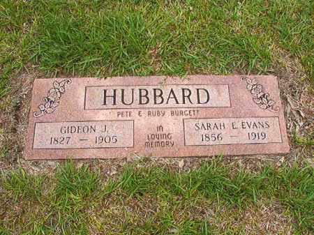 HUBBARD, GIDEON J - Calhoun County, Arkansas | GIDEON J HUBBARD - Arkansas Gravestone Photos