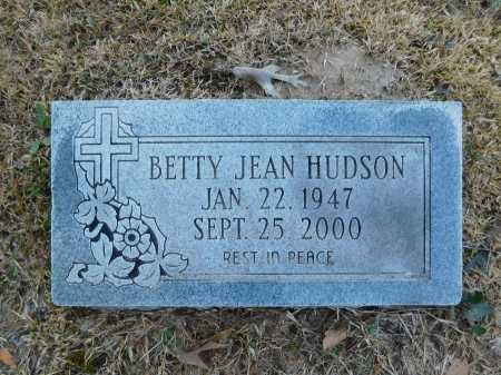 HUDSON, BETTY JEAN - Calhoun County, Arkansas | BETTY JEAN HUDSON - Arkansas Gravestone Photos