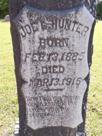 HUNTER, JOE L - Calhoun County, Arkansas | JOE L HUNTER - Arkansas Gravestone Photos