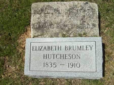 BRUMLEY HUTCHESON, ELIZABETH - Calhoun County, Arkansas | ELIZABETH BRUMLEY HUTCHESON - Arkansas Gravestone Photos