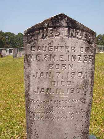 INZER, ETHEL - Calhoun County, Arkansas | ETHEL INZER - Arkansas Gravestone Photos