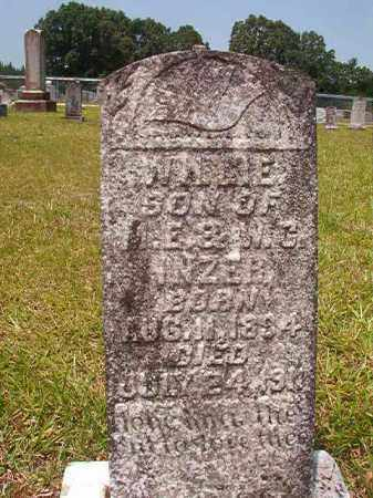 INZER, WILLIE - Calhoun County, Arkansas | WILLIE INZER - Arkansas Gravestone Photos