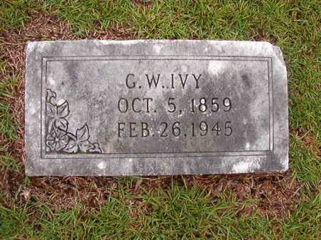 IVY, GEORGE WASHINGTON - Calhoun County, Arkansas | GEORGE WASHINGTON IVY - Arkansas Gravestone Photos