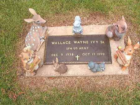 IVY, SR (VETERAN), WALLACE WAYNE - Calhoun County, Arkansas | WALLACE WAYNE IVY, SR (VETERAN) - Arkansas Gravestone Photos