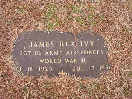IVY (VETERAN WWII), JAMES REX - Calhoun County, Arkansas | JAMES REX IVY (VETERAN WWII) - Arkansas Gravestone Photos